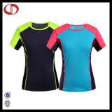 Pullover poco costoso T-Shirt Patterns di Wholesale Sports per Women