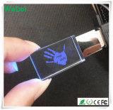 Lecteur flash USB en cristal de vente chaud avec la garantie de 1 an (WY-D25)