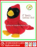 빨간 기본적인 새에 의하여 주문을 받아서 만들어지는 견면 벨벳 장난감