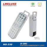alumbrado de seguridad recargable de 6W LED