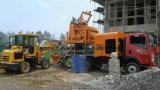 De nieuwe Vrachtwagen van de Dieselmotor zette Concrete Pomp met Mixer op