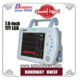 7.0 pulgadas TFT LCD pequeña Medical Monitor de Paciente, múltiples parámetros Monitor de signos vitales