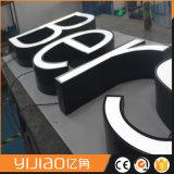 Lettres acryliques d'acrylique de lumière avant d'étalage de fabrication de Jiangsu Chine
