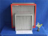 El papel de fibra de vidrio resistentes de alta temperatura filtro de aire HEPA