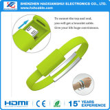 Bracelet Micro USB 2.0 Sync Data Charger Cable pour Android