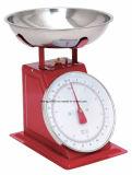 10kg resorte mecánico cocina los alimentos con un peso de balanza de resorte de marcación