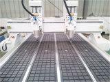 rebajadora CNC para madera de doble husillo de la cabeza