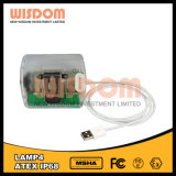 Wisdom Hot Good Impermeable faros, luz antideflagrante con lúmenes altos
