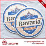 Barato Absorbente impermeable de papel de cartón Cerveza Coaster para regalo promocional