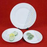 La Chine Fabrication simple dîner la vaisselle en céramique de couleur