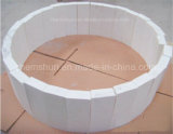 Tegel van de Voering van de Pijp van het Oxyde van het aluminium de Ceramische voor de Ellebogen van de Pijp van het Staal