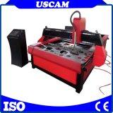 Cortador de Plasma de baixo custo em chapa de aço Tabela CNC máquina de corte de plasma