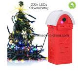 Weihnachtslichter der Mg-Meerwasser-Energien-LED