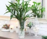 Стеклянная ваза для украшения дома и венчания