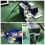 borne de fibre de machine/en métal/acier inoxydable d'inscription de laser de fibre de 10W 20W 30W