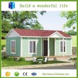プレハブの別荘1の寝室の快適な鋼鉄ホームによって組立て式に作られる生きている家