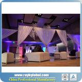 結婚式の使用のための背景幕の壁を配管し、おおいなさい