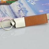Trousseau de clés en cuir de bonne qualité promotionnel