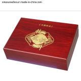 Коробка высокого качества деревянная с замком для бутылок