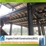 Edifícios de aço claros pré-fabricados Multi-Story do custo