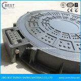 Schip het Van uitstekende kwaliteit van En124 C250 gebruikte de Samengestelde Scharnierende Dekking van het Mangat van de Glasvezel