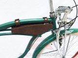 GeschwindigkeitLowrider des lederner Beutel-Strand-Kreuzer-Fahrrad-7