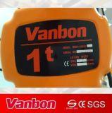 тип скорость крюка 1ton Supension электрической тали с цепью двойная