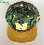 Fabricante del sombrero del casquillo del Snapback de la impresión de Camo