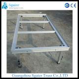 Étape claire en aluminium de mariage de décoration en verre acrylique de Guangzhou Sgaier Stage Company