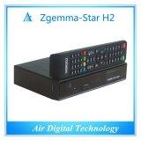 본래 Zgemma 별 H2 인공 위성 수신 장치 리눅스 OS E2는 쌍둥이 조율사 코어 DVB-S2+T2/C 이중으로 한다