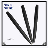 Crayons lecteurs élevés en métal d'acier inoxydable de stylo bille de noir de prix concurrentiel