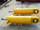 50トンの掘削機のオイル管のConstrcutionの機械装置部品が付いている油圧バケツブームアームシリンダー
