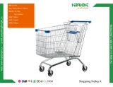 スーパーマーケット装置のショッピングトロリーカート