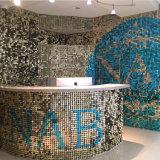 Único brillante exterior moderno de mosaico de la pared exterior de pared