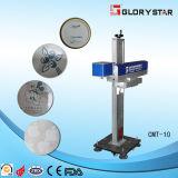 Máquina de la marca del laser de Siver del oro de la fibra 20W para la joyería