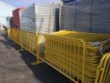 직류 전기를 통한 /Powder 입히는 강철 관 도보 군중 통제 방벽