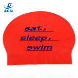 La preuve de l'eau Latex le capuchon de Natation Natation Natation Natation Cap Hat Hat Natation chapeau avec design personnalisé