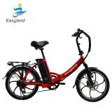 2 Колеса складной велосипед с электроприводом 20дюймов с литиевой батареей