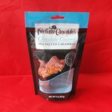Sacs zip-lock transparents estampés par coutume pour l'empaquetage de chocolat d'animal familier