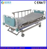 Ausrüstungs-geduldiger Bezirk-manuelles Dreifunktions-Krankenhaus-Krankenpflege-Bett