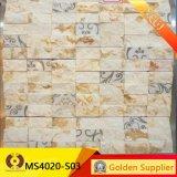 Mosaico de mármol, azulejos de pared (MS4020-03)