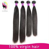 Extensões retas de seda indianas livres do cabelo do Weave do emaranhado