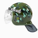 殴打の暴動のヘルメットの軍の戦術的なヘルメットの警察の保護ヘルメット
