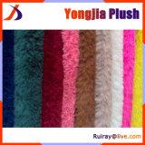 Anche tessuto lavorato a maglia filo di ordito di tocco morbido della peluche del taglio