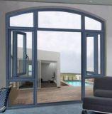 현대 디자인 나무로 되는 색깔 열 틈 알루미늄 여닫이 창 Windows (ACW-033)