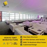 De grote Tent van het Huwelijk van de Partij van het Aluminium met de Witte Dekking van pvc & Zijwanden (HAF 20m)
