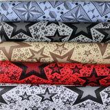 Couro de PVC de alta qualidade para o saco (HJ006#)