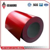 Ideabond de alta qualidade da bobina de alumínio revestido de cor