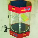 Акриловая коробка индикации сотового телефона основания крышки