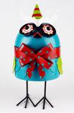 Fábrica decorativos Design aves coloridas aves Metal Antigo